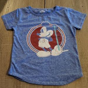 $5 w/ bundle! Disney Girls Blue Mickey Mouse Tee